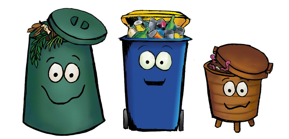 NORTH SHORE CITY COUNCIL - WASTE MINIMISATION CHARACTERS