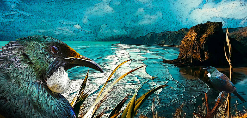 PIHA OVERTURE - NZ ART SERIES