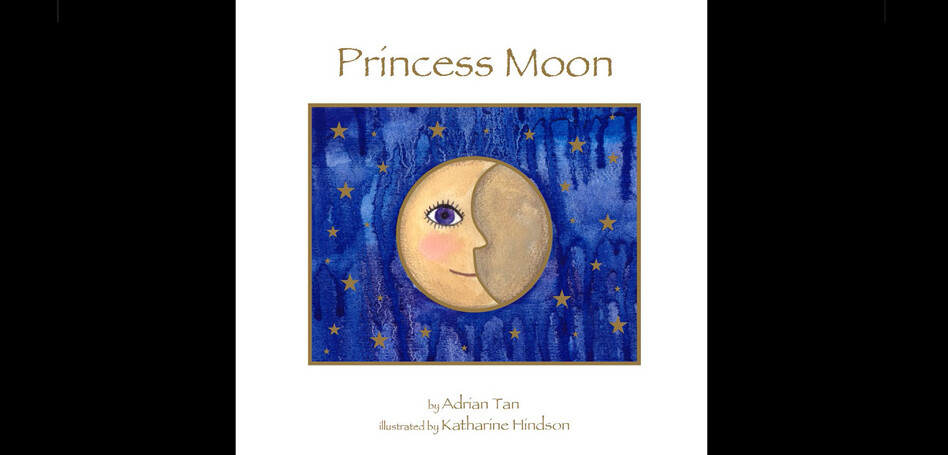 PRINCESS MOON - CHILDREN'S BOOK ILLUSTRATION
